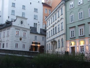 Colour Photograph of Harry Lime 'First Appearance' Location in Vienna. Click to enlarge. Photograph taken by CJ Walsh. 2008-03-15.