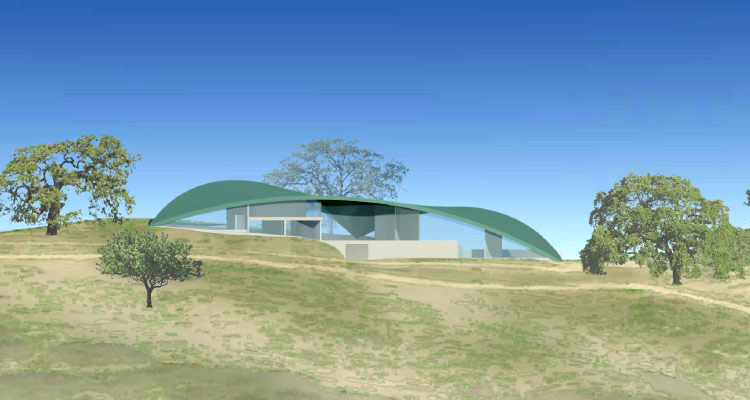 Leaves In The Wind Is An Innovative Five-home Green