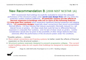 Colour image showing Page 36 from my Overhead Presentation on 'Sustainable Fire Engineering' ... scheduled for this Thursday, 22 September 2011, at the ASFP Ireland Fire Seminar & Workshop ... to be held at the RDS, in Ballsbridge, Dublin. Click to enlarge.