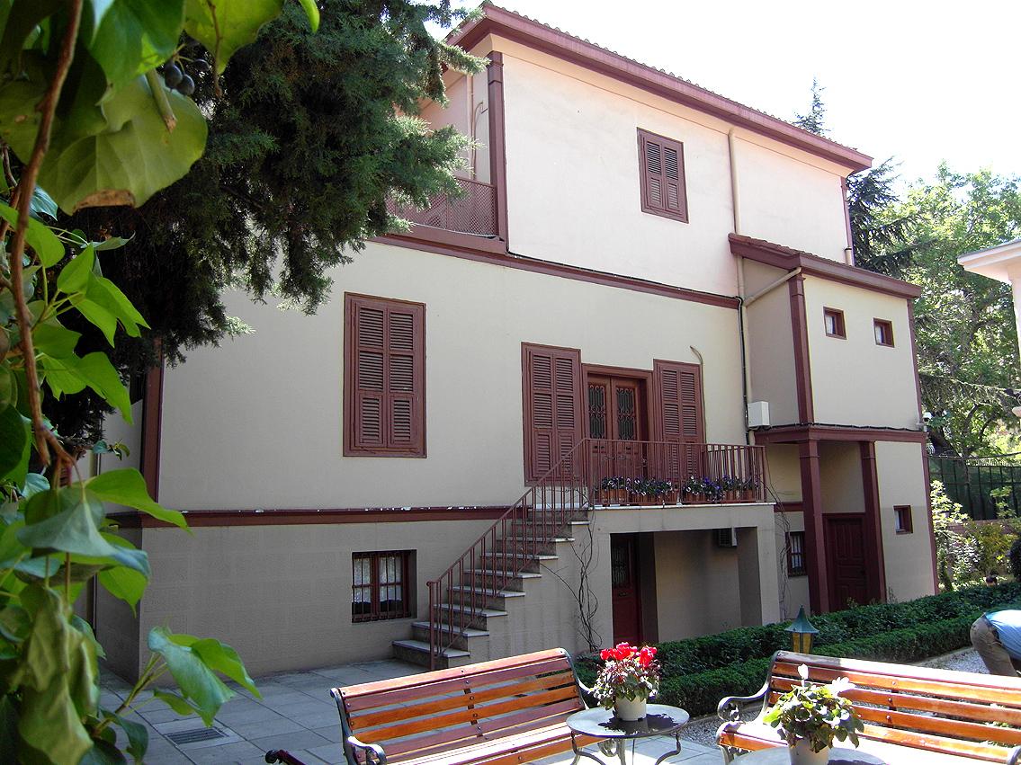 Birthplace of Ghazi Mustafa Kemal Atatürk in Salonika ...