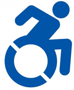 Alternative Accessibility Symbol (USA-2011) - Functional Impairment