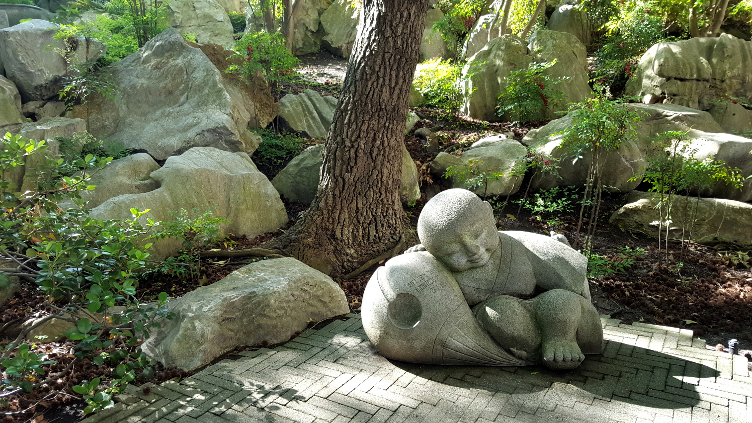 Wonderful chinese garden of friendship in sydney a gentle colour photograph showing a sculptural feature in the garden click to enlarge photograph taken by cj walsh 2016 11 10 biocorpaavc